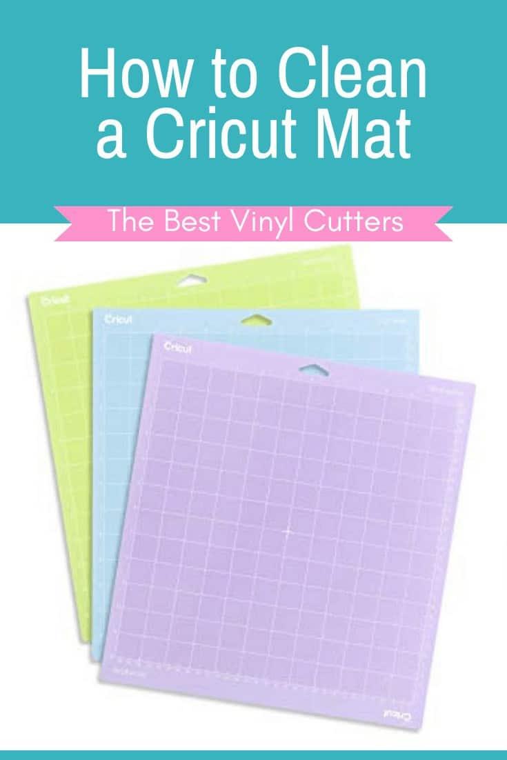 The Best Vinyl Cutters Clean a Cricut Mat