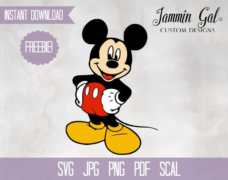 mickey disney svg