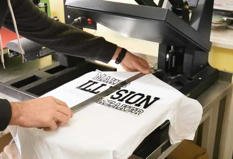 T shirt heat pressing tricks