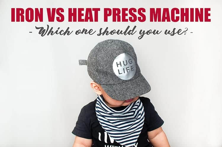 Iron vs Heat Press to Design Cap