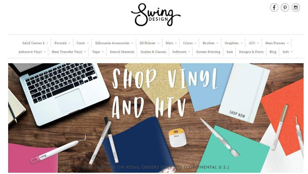 Swing Design Vinyl Shop