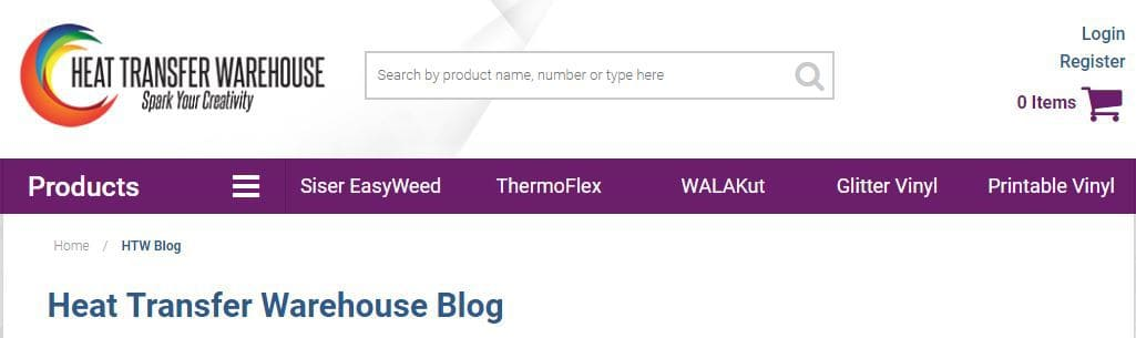 Heat Transfer Warehouse Blog
