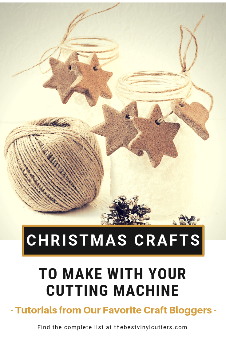 Find a list of some of the best Christmas Crafts you can make with your cutting machine. Our favorite bloggers from around the world share step-by-step tutorials to help you recreate their Christmas projects. Hop over and find the list now. #ChristmasCrafts #DIY #CraftTutorials