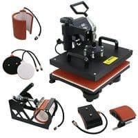 F2C 5-in-1 Digital Heat Press Machine Review