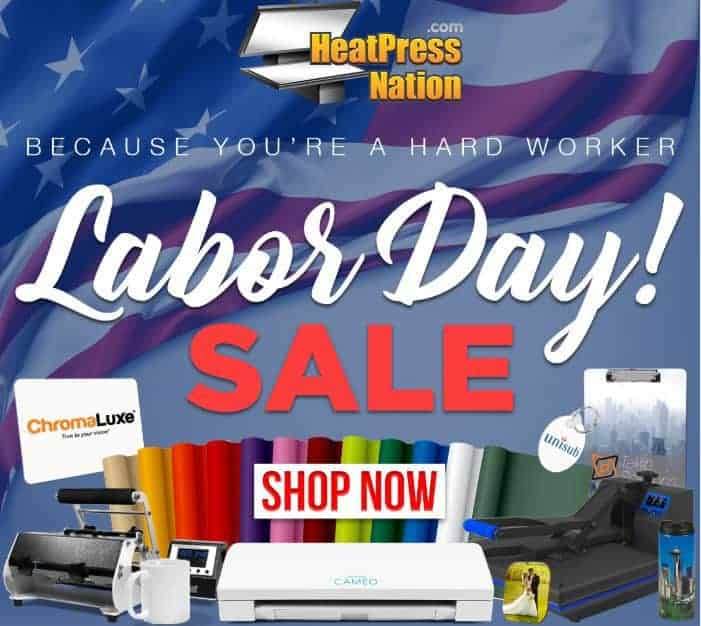 Heat Press Labor Day Sales and Deals