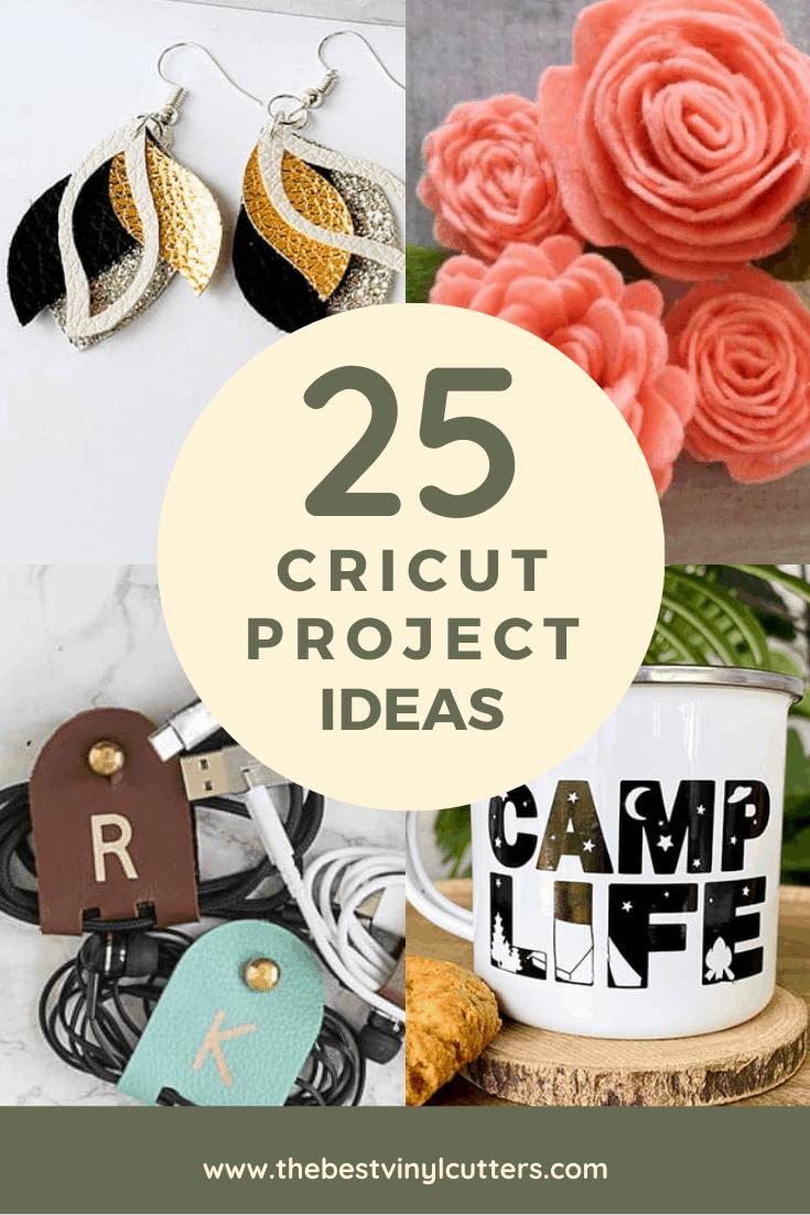 25 Cricut Project Ideas