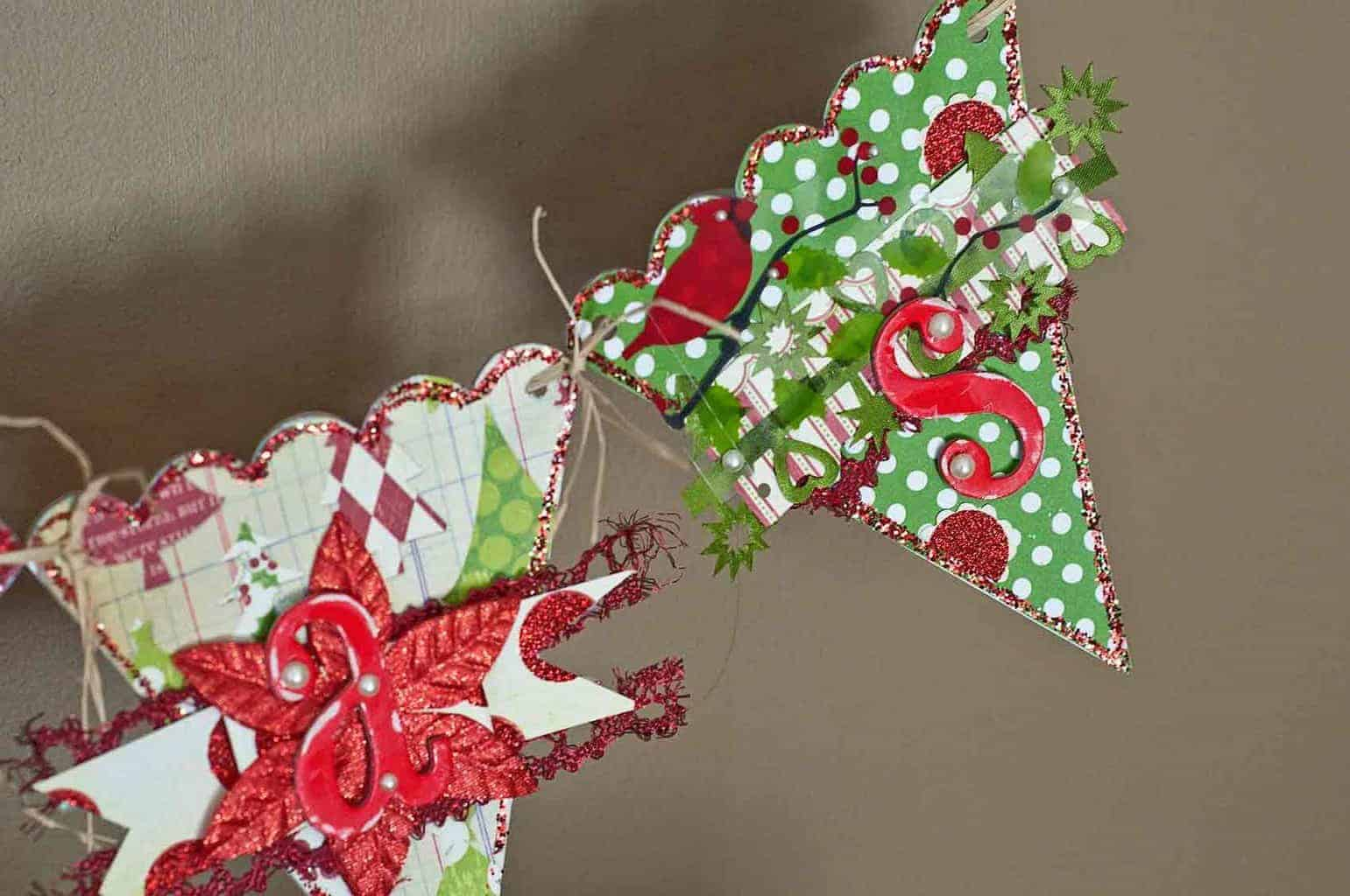 Close up of Christmas Banner 2