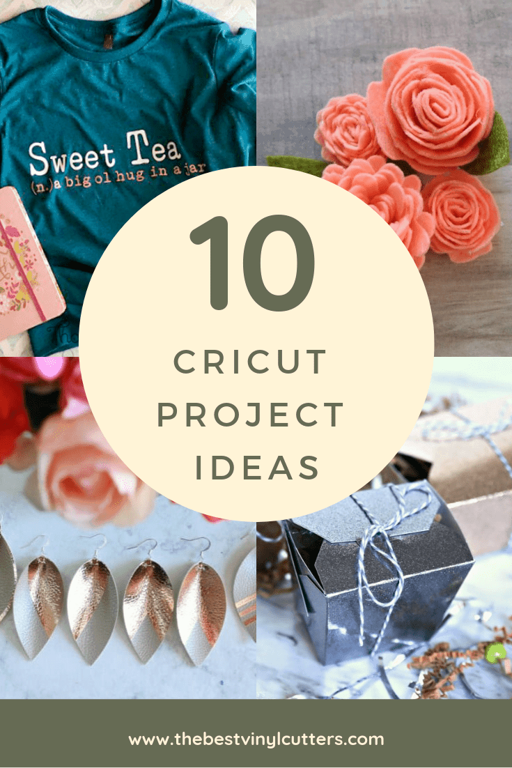 Cricut Cutting Machine Project Ideas