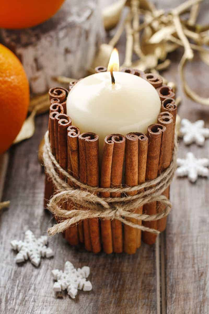 DIY Candle Decoration Gift Idea