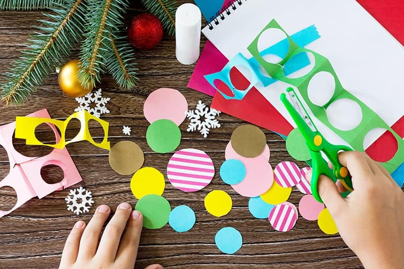 DIY Christmas Card Craft Idea for Kids
