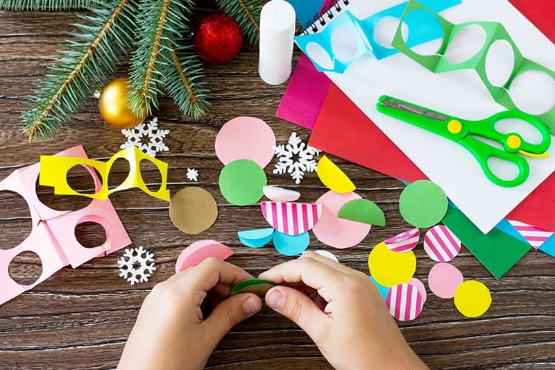 DIY Handmade Christmas Card for Kids