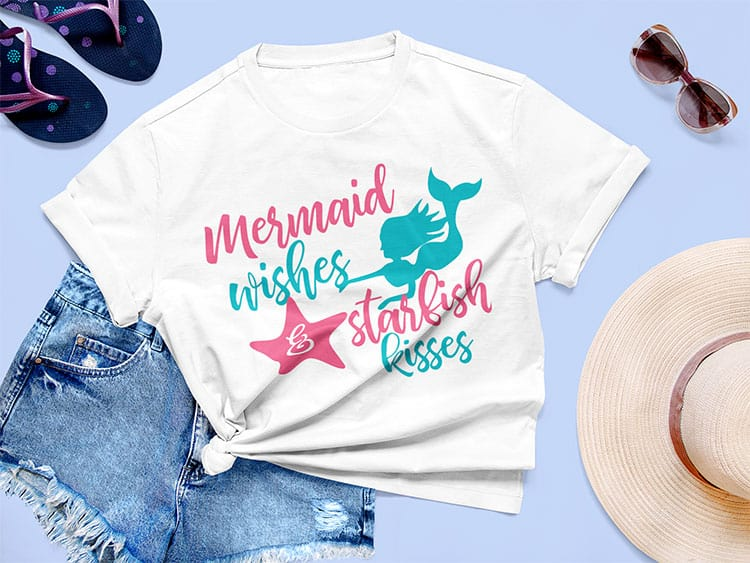 FREE Mermaid SVG Files to Download