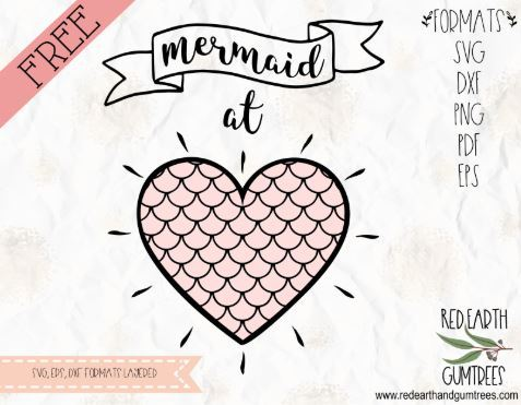 Free Mermaid Quote File for Cricut and Silhouette