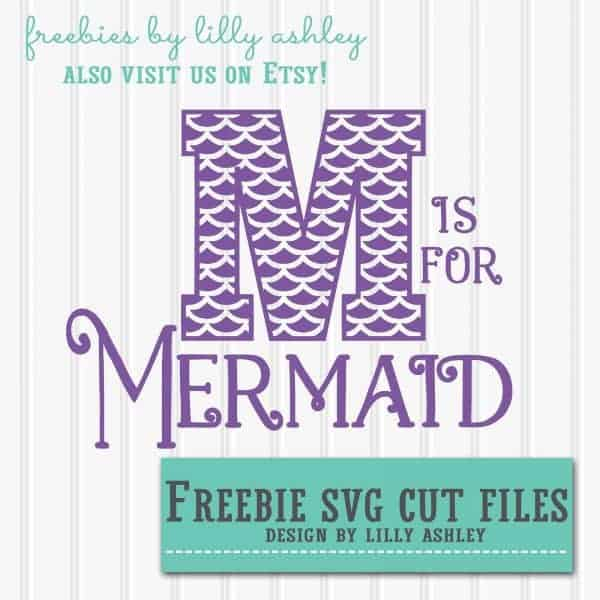 Mermaid Free Cut File