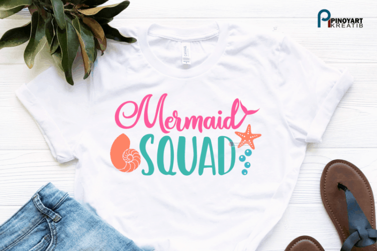 Mermaid SVG File for cricut