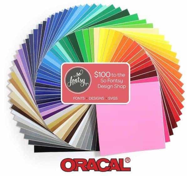 Oracal Black Friday Vinyl Sale