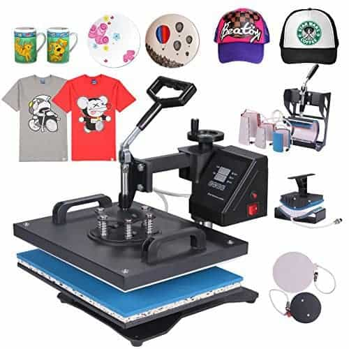 ShareProfit 8 in 1 Heat Press Machine Review