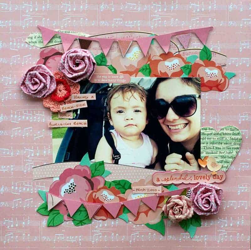 Step-By-Step Creating a Scrapbook Layout