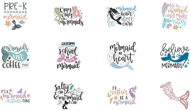 free mermaid svg file
