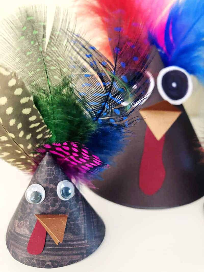 make a turkey craft