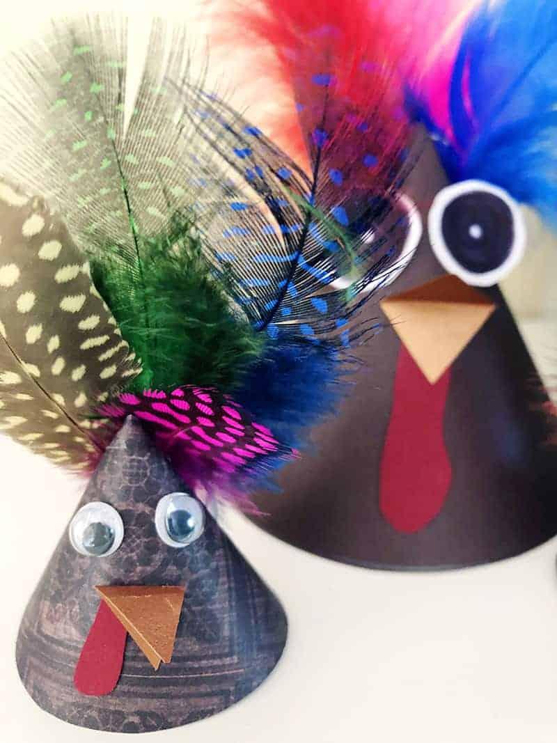 make a turkey craft