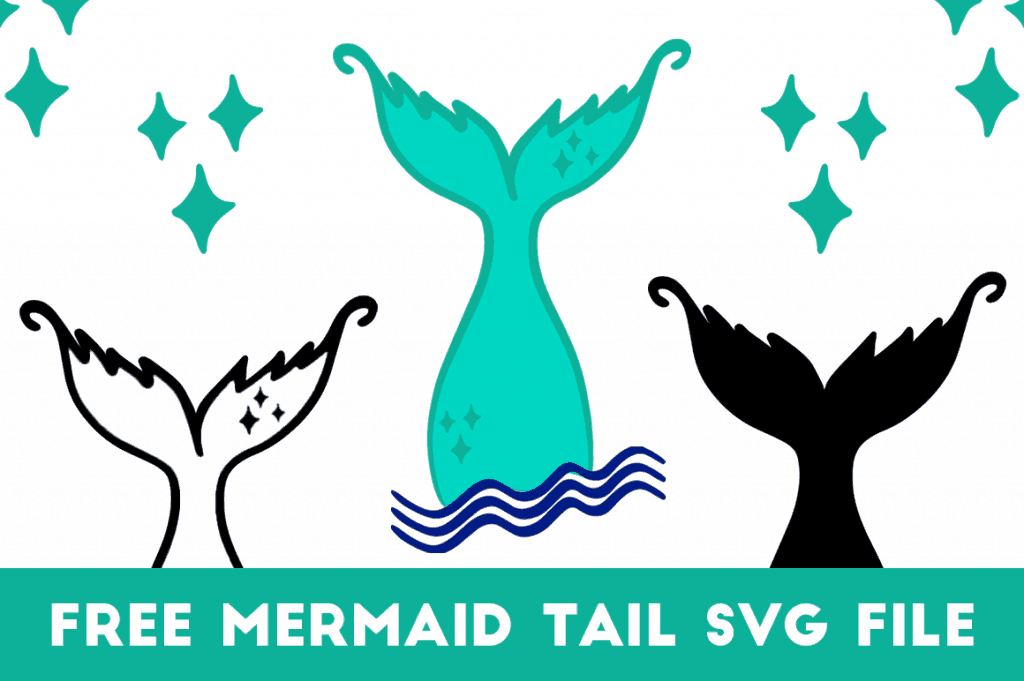 mermaid tail svg free