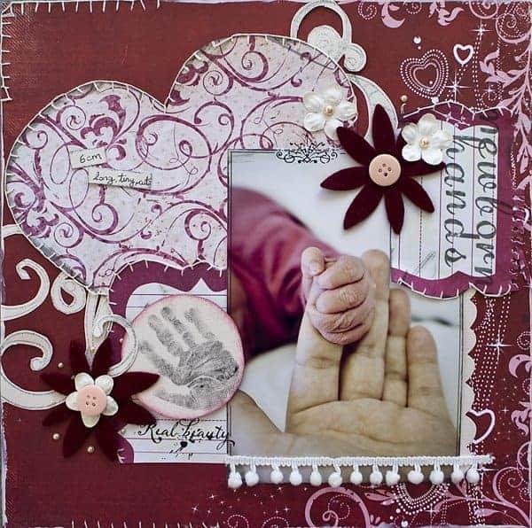 baby book ideas scrapbook