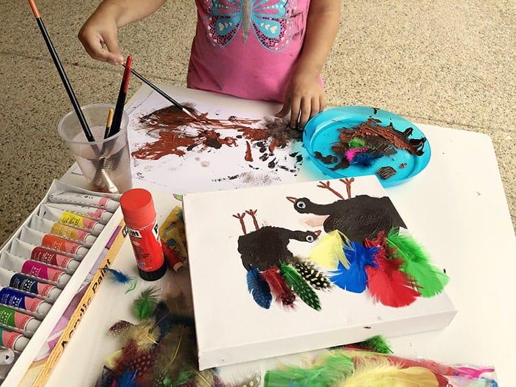 thanksgiving art for kids