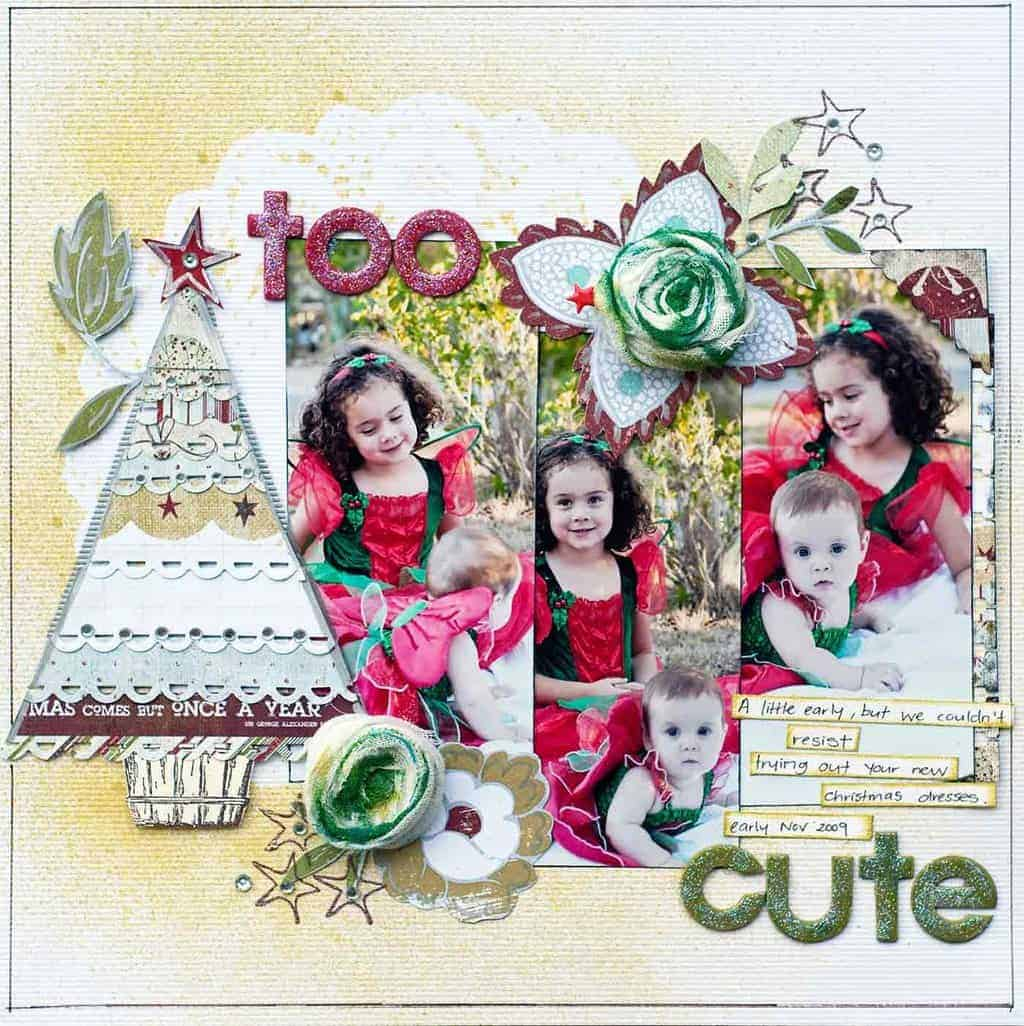 scrapbook christmas ideas