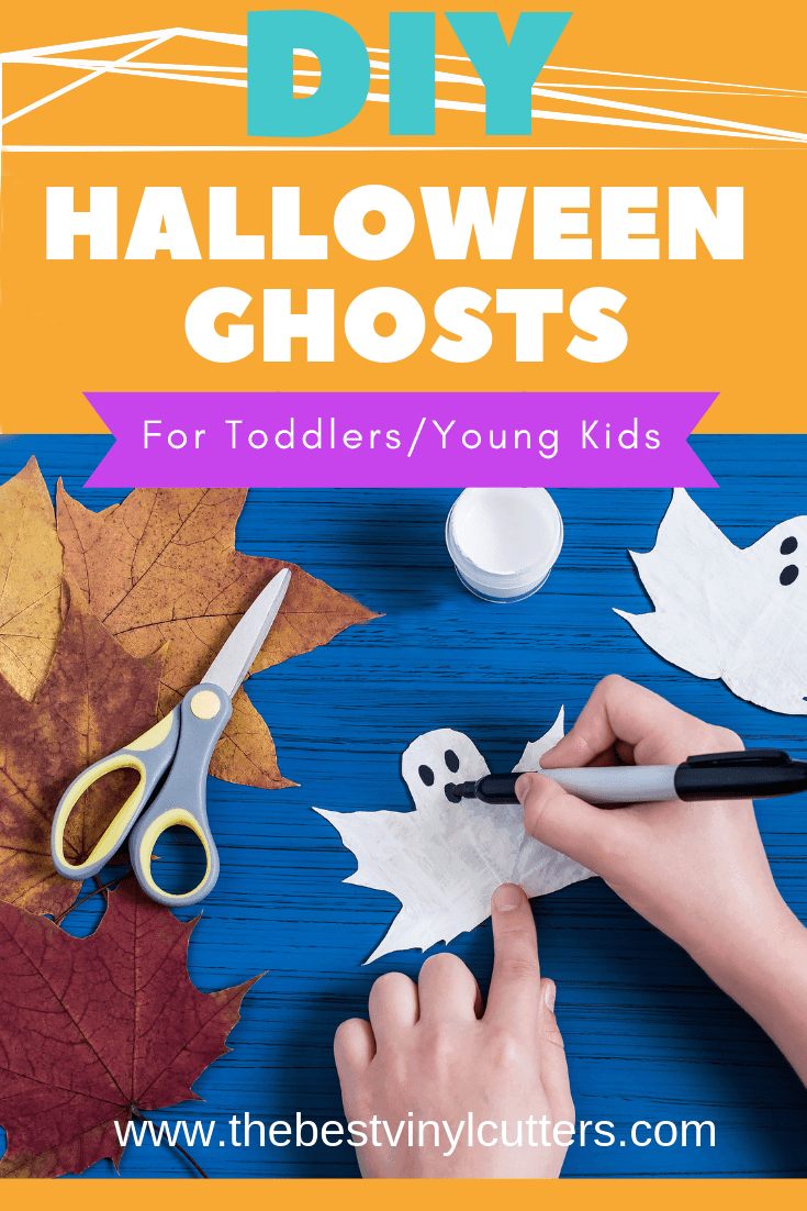 DIY Halloween Ghost Craft for Toddlers