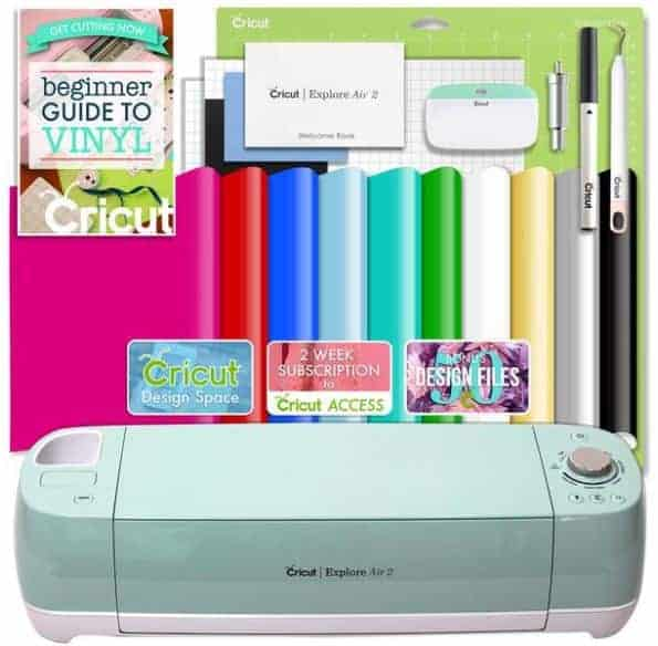 Cricut Explore Vinyl Bundle Deal