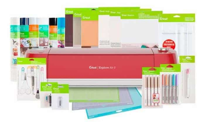 cricut explore air 2 everything bundle