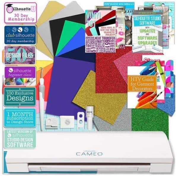 silhouette cameo 3 heat transfer bundle