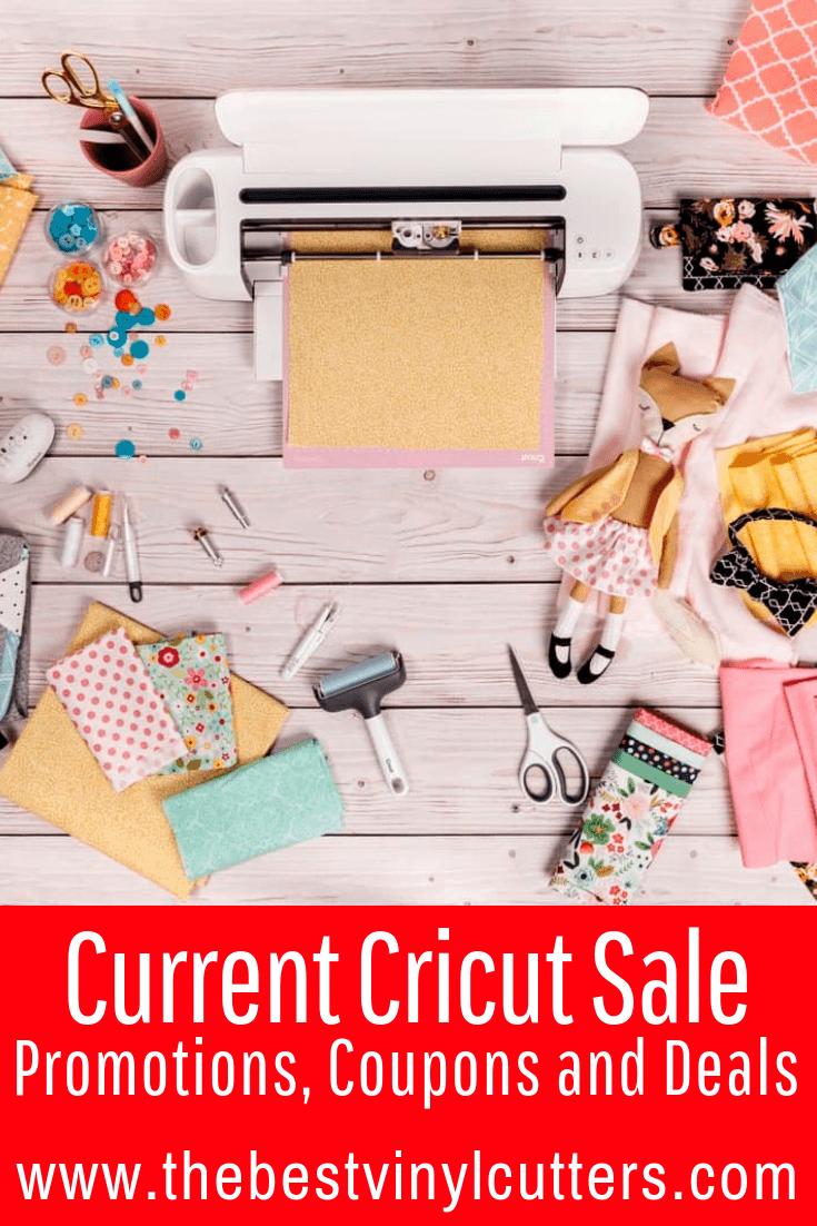 Cricut Sales, Promotions and Deals