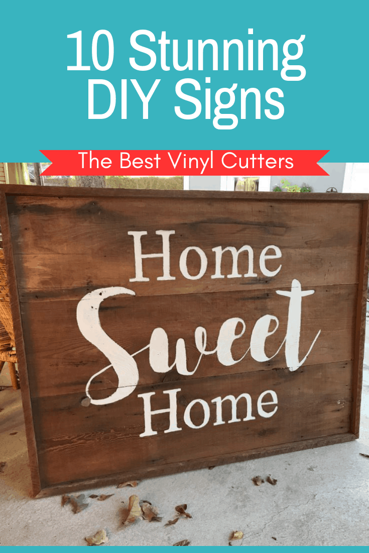 10 Stunning DIY Signs