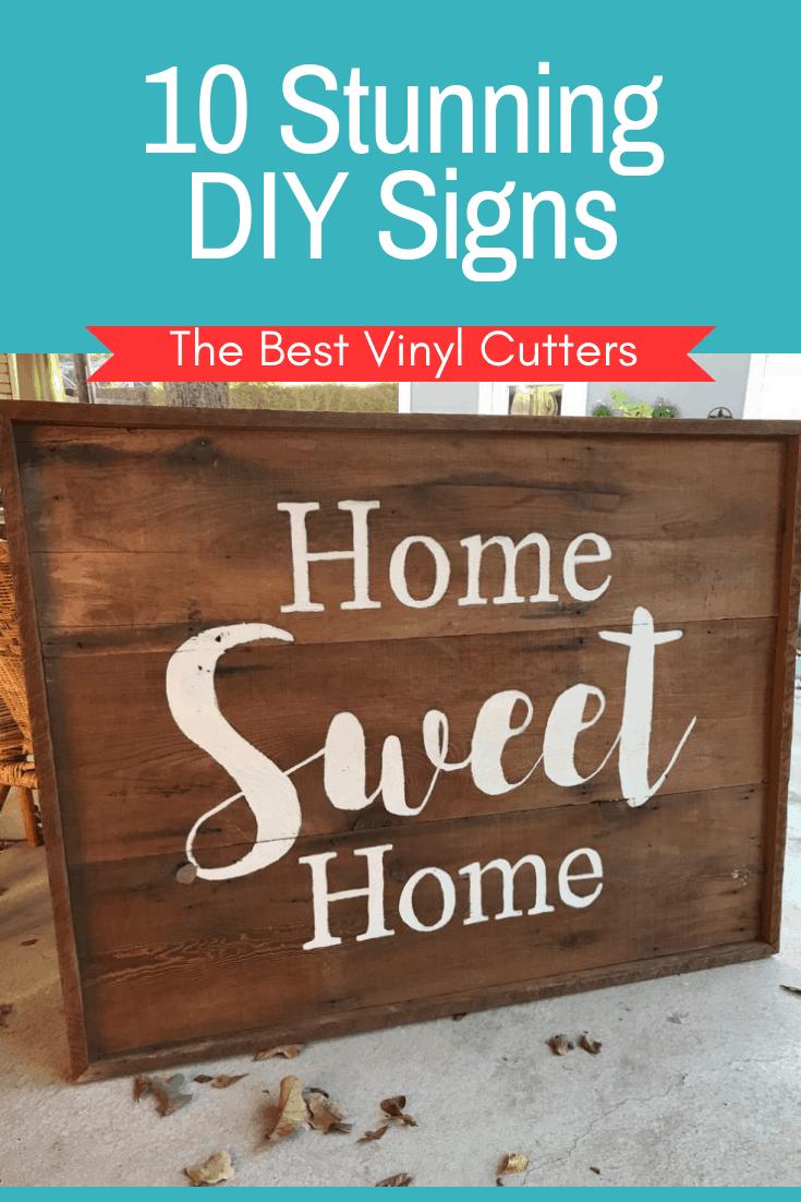 10 Stunning DIY Signs