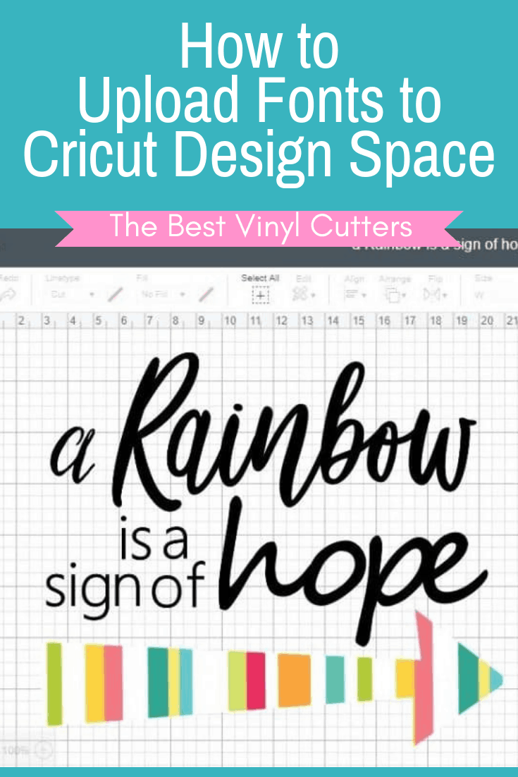How to Upload Fonts to Cricut Design Space - Full Tutorial Included