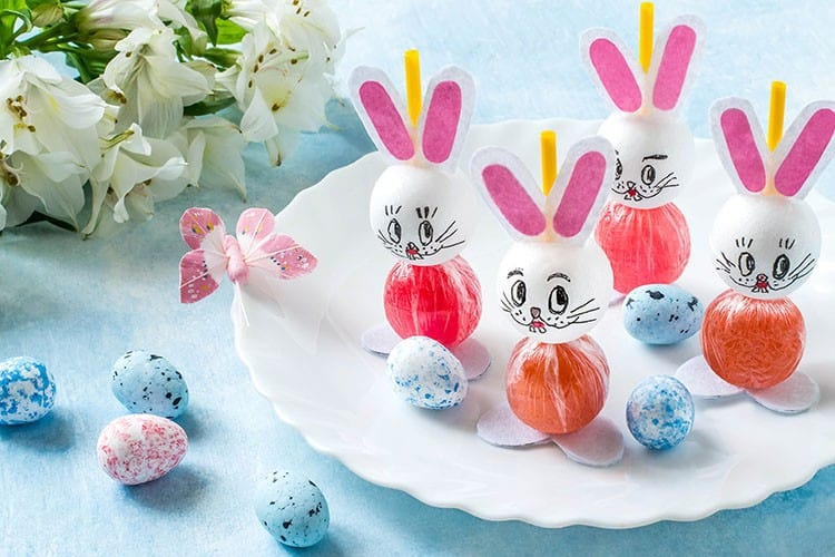 DIY Easy Easter Lollipop Craft Tutorial