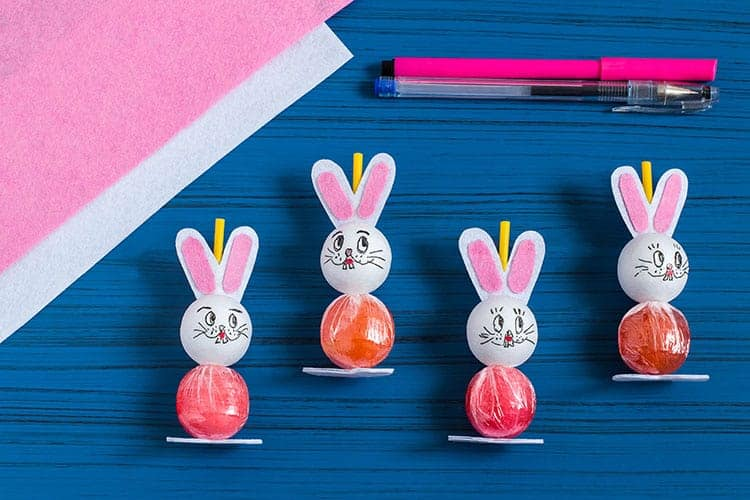 DIY Easy Easter Sucker Craft Tutorial