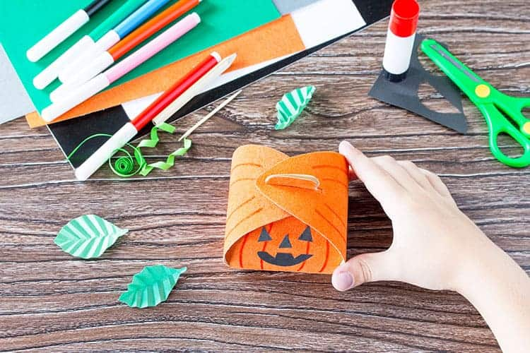 DIY Halloween Gift Box Template and Tutorial