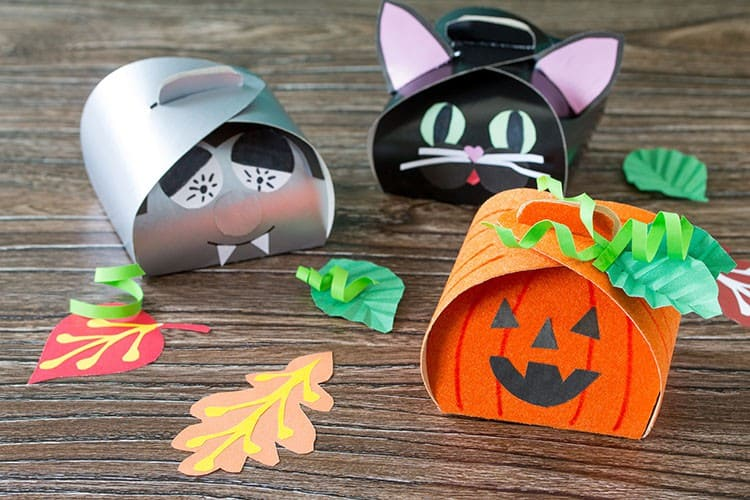 DIY Halloween Gift Boxes