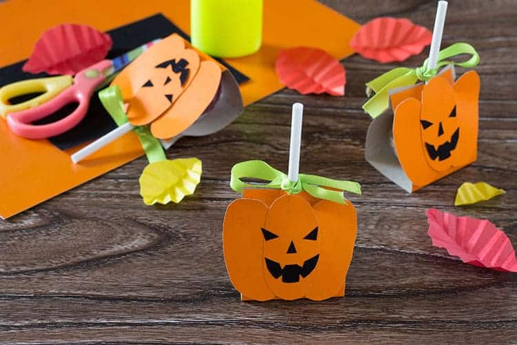 DIY Party Halloween Lollipop