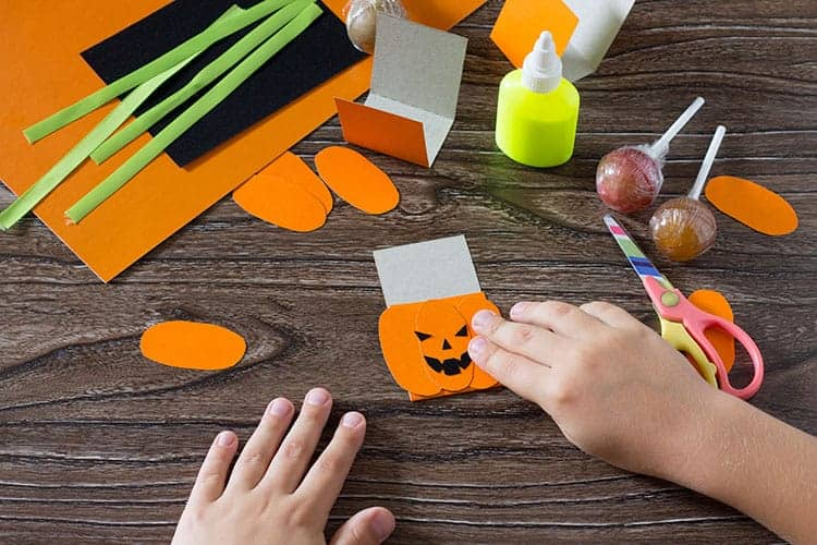 DIY halloween suckers tutorial