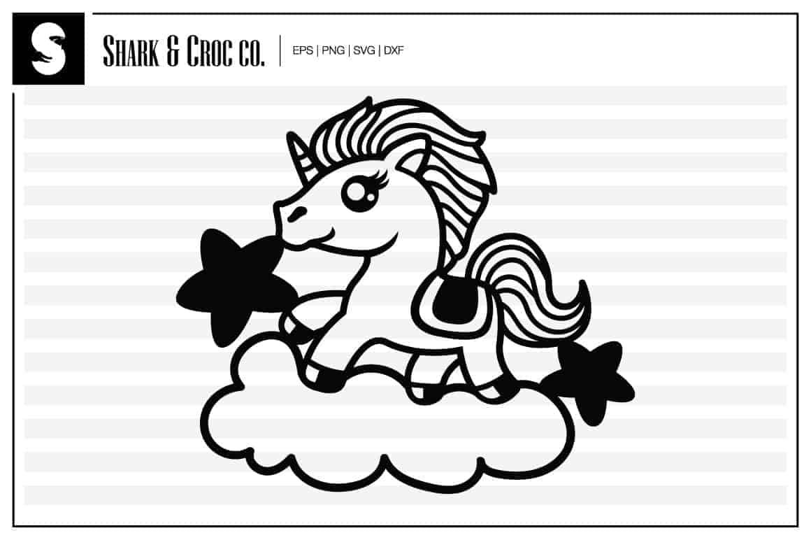 Collection Of The Best Free Unicorn Svg Files On The Web