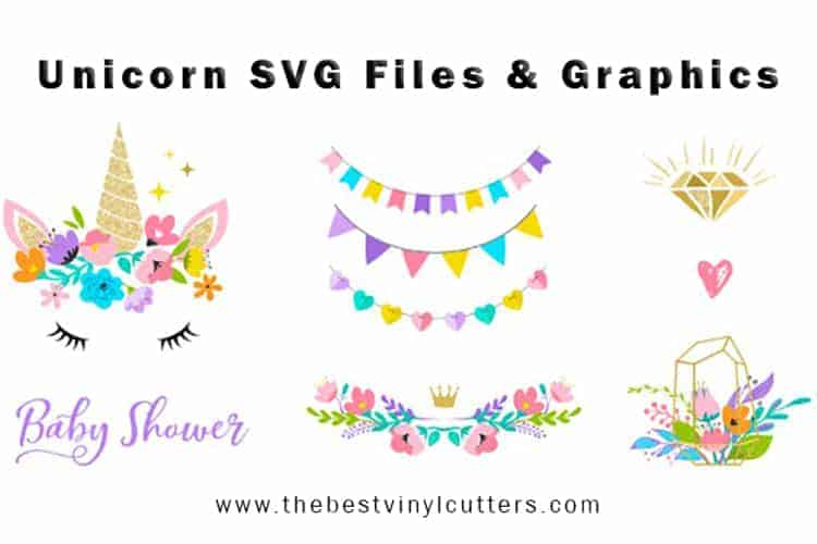 Free Unicorn SVG Files for Cricut and Silhouette