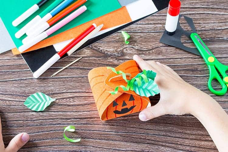 Halloween Pumpkin Gift Box Tutorial