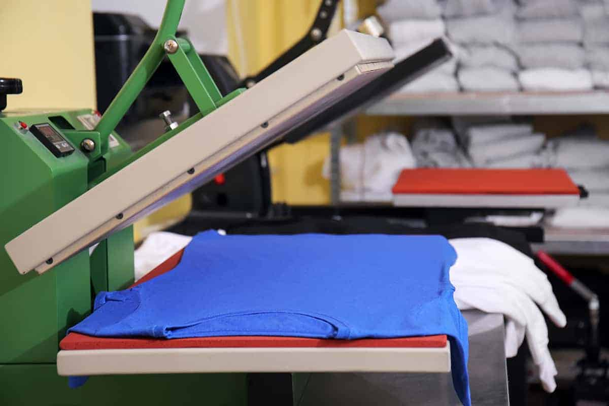 Heat Press Machine to Print Shirts