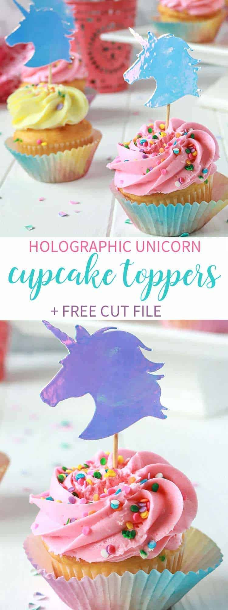 Holographic-Unicorn-Cupcake-Toppers
