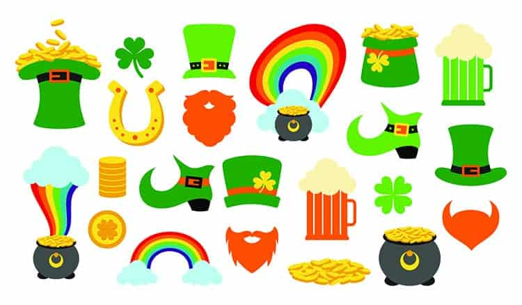 St. Saint Patricks Day Sticker Sheet