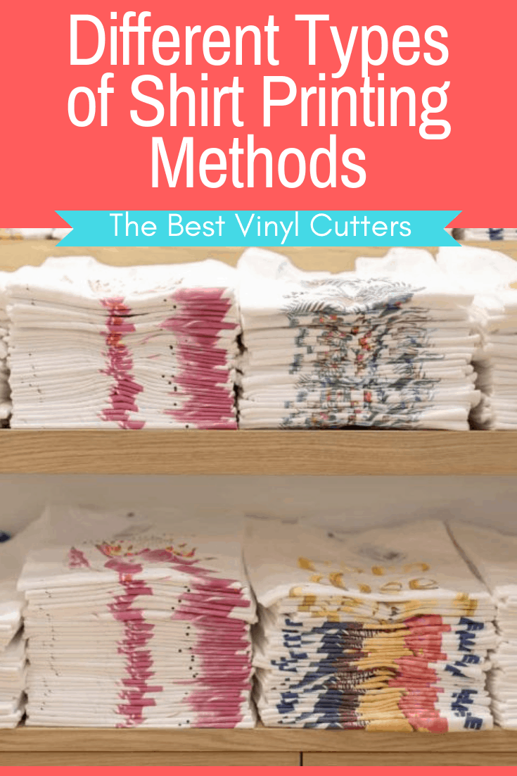 Different Types Of Shirt Printing Methods